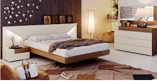 light as a feather upon a contemporary platform bed italmoda elena bed