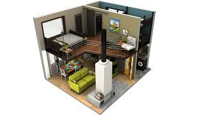 lovely design ideas 1 3d small house plans with loft tiny floor