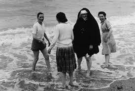 15 vintage photos of nuns doing normal things mental floss