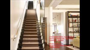 stainless steel staircase handrail design in kerala best with
