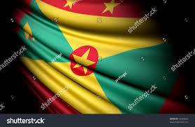 Flag Of Grenada Grenada This Illustration Flag Stock Illustration 37426633