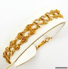 ladies gold bracelet design images Ladies gold bracelet designs with price 2018 jpg