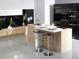 photo cuisine avec ilot central grande cuisine avec ilot central plan cuisine moderne avec ilot