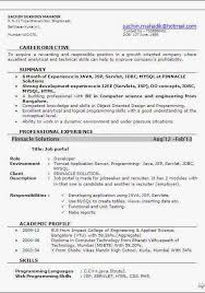 Resume Template  Software Test Engineer Resume Sample With Professioanl Summary And Education History  Software
