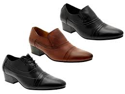 wedding shoes office mens smart cuban heels formal wedding office shoes slip on lace up