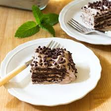 chocolate pudding icebox cake on sutton place