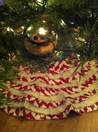 christmas tree skirt burlap i used done over decor for the