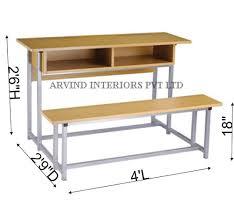 Modern School Desk Modern School Desk Office Commercial Furniture Arvind Retail