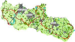 Derbyshire England Map by National Forest Way 75 U2013 Go Ultra Events