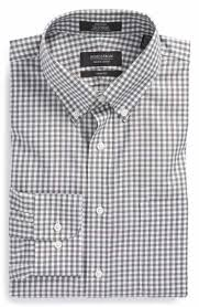 men u0027s grey check u0026 plaid dress shirts nordstrom