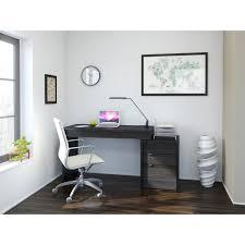 Desk And Filing Cabinet Set Nexera Sereni T 2 Person Desk With Filing Cabinet Black Hayneedle