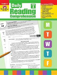 daily reading comprehension grade 4