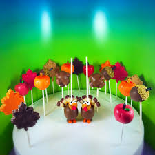 thanksgiving theme a cake pops