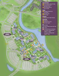 Disney World Hotel Map April 2017 Walt Disney World Resort Hotel Maps Photo 10 Of 33