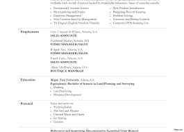 simple resume format sle documentation of inventory retail sales associate resume 68617999 sale clothing 16a