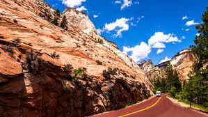 Utah World Travel images Free images landscape nature sand rock walking sky road