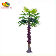 Home Decor Artificial Trees Sale Artificial Fan Palm Tree Indoor Home Decor Artificial