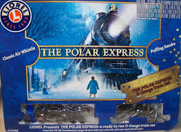 kids catch a ride on the polar express