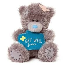 get well soon teddy me to you tatty teddy get well soon small soft plush