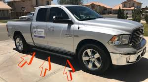 running boards for dodge ram 1500 iboard running boards complete install on a dodge ram 1500 big