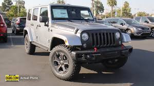 jeep billet silver metallic new 2017 jeep wrangler unlimited rubicon recon convertible in