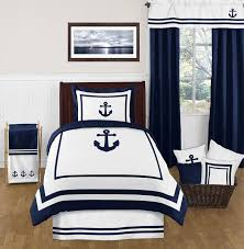 Twin Bed Sets For Boy by Anchors Away Nautical 4pc Twin Bedding Set Only 119 99