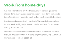 why we work from home