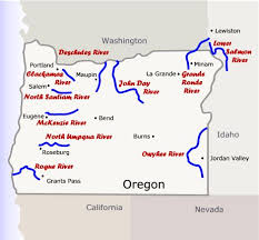Oregon rivers images Map gallery oregon river experiences jpg