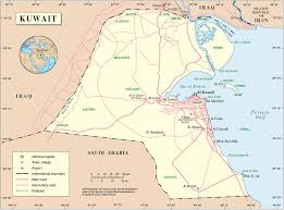 Kuwait On A Map Goto Image Results For