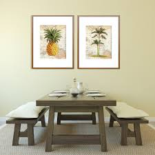 tropical prints pineapple prints palm tree prints kitchen