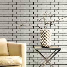 wallpaper design batu bata modern 3d embossed stone brick wall vinyl wallpaper roll home decor