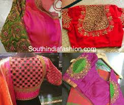 blouse patterns cut work blouse patterns for silk sarees south india fashion