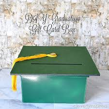 graduation card box ideas diy graduation gift card box cleverly inspired