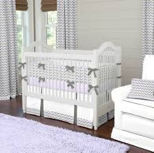 Gray And Yellow Crib Bedding Bedroom Chic Pink And Grey Chevron Baby Bedding With White