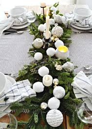 Christmas Decoration Table Settings by Christmas Dining Room My Fabuless Life