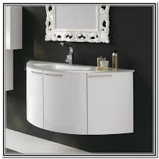 rounded bathroom vanity unique vanities cabinets sinks curved unit