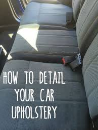 home products to clean car interior diy detail your cars upholstery car upholstery