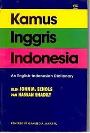 Kamus Bahasa Inggris Kamus Bahasa Inggris Indonesia Hassan Shadily Dan M Echols