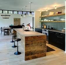 cuisine en bois massif moderne ilot cuisine bois massif inspirational cuisine avec lot central