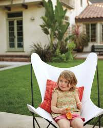 Butterfly Chairs Outdoor 12 Lessons In Outdoor Living Martha Stewart