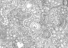 Hard Flower Coloring Pages - coloring pages for girls sisters just colorings