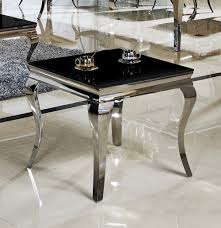 Wohnzimmertisch Luxus Beistelltisch 60 X 60 X 50 Ina Nachttisch Schwarz Designer Luxus