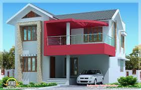 Kerala Home Design 900 Sq Feet 2030 Sq Feet Simple Modern House In Trivandrum Kerala Home