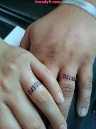 wedding ring tattoos 40 awesome wedding band ring tattoos page 3 hi miss puff