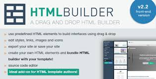 edit html template html builder front end version by chilly orange codecanyon