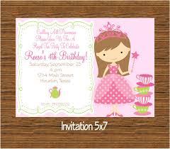 Kitchen Tea Invites Ideas Princess Tea Party Invitations Marialonghi Com