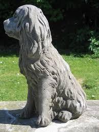 cavalier king charles statue surrey ornamental stoneware
