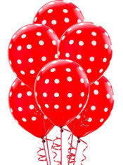 polka dot balloons printed balloons zebra polka dot balloons party city