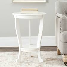 safavieh cape cod cream pedestal side table free shipping today