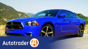 2013 dodge charger r t sedan new car review autotrader youtube